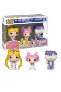 Pop! Animation: Sailor Moon - Serenity, Endy, Rini Exclusivo
