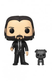 Pop! Movies: John Wick - John Wick in Black Suit with Dog