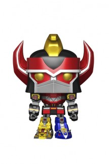 "Pop! Power Rangers - Megazord 6"" Metallic Exclusivo"