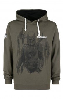 Star Wars - Sudadera The Mandalorian Bounty Hunter