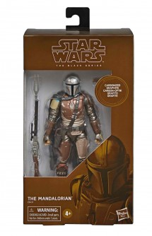 Star Wars: The Mandalorian - Carbonized Collection Figura Black Series